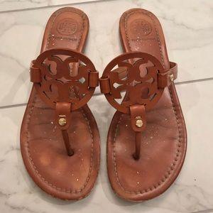 efea8ecbf48ad Tory Burch Miller sandals size 8